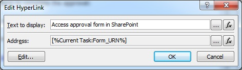 Edit Hyperlink